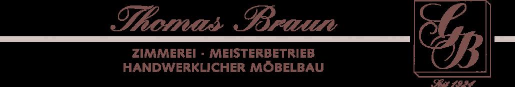 Zimmerei Braun seit 1924